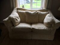 Fishpools 3 piece suite, 3 seater, 2 seater and armchair