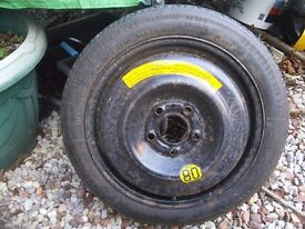 Space saver tyre on hub suit Volvo ford and ?