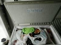 Double chest freezer