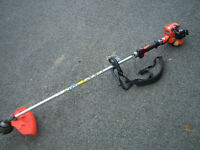 ECHO BRUSHCUTTER with bump feed head