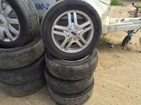 Ford Alloy Wheels 15 inch 4 Stud. Ford Focus. Ford Transit Connect. Ford Mondeo.