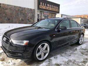 2015 Audi A4 PROGRESSIV PLUS.QUARTRO. 6 SPEED MANUAL. S-LINE. N