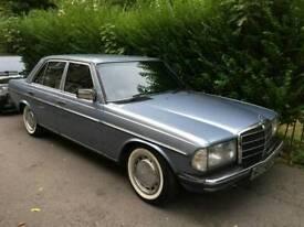 Mercedes 230e auto classic bargain