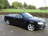 Sabb 9-3 Vector 2.0 T Convertible ★ ★ BRILLIANT BLACK ★ ★ LONG MOT ★ ★ OUTSTANDING CONDITION ★ ★