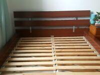 Ikea Bed Frame and slatted bed base