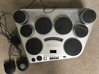 Yamaha electronic portable drum kit dd65