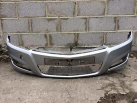 Vauxhall Astra H 2008 2009 2010 genuine silver front bumper for sale
