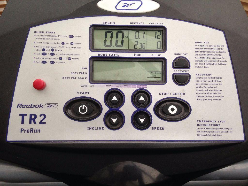 Reebok Tr2 Prorun Treadmill In Somercotes Derbyshire Gumtree