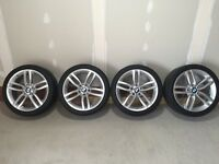 "BMW 18"" Alloy Wheels & Tyres"