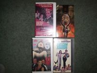 3 RARE ASSORTED DVDS AND 7 RARE VHS AND ONLY ON VIDEO