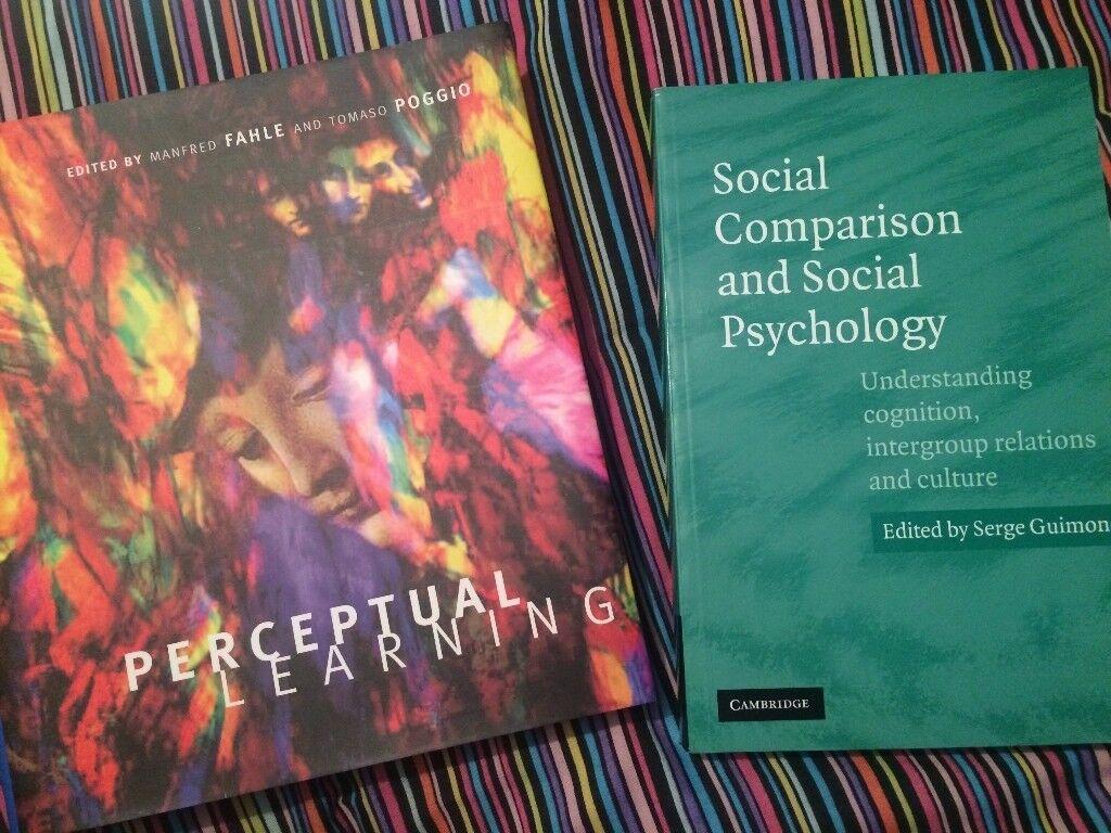 2 Psychology Books - NEW - useful for Social Psychology