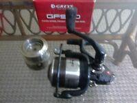greys fishing reel