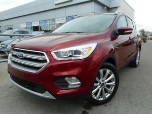 2017 Ford ESCAPE AWD TITANIUM/ CUIR/ NAV/ CAMERA DE RECUL