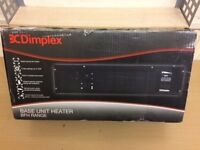 Dimplex BFH24BWSR Base Unit Electric Heater Brand New, With Extra Front Panels in Diffrent Colours.