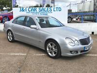 MERCEDES-BENZ E CLASS 3.0 E320 CDI AVANTGARDE 4d AUTO 222 BHP A GREAT EX (silver) 2008