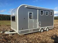 Ifor Williams eventa L gold horse trailer