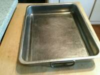 Large catering roasting tray. 40x32 cm.