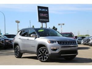 2018 Jeep Compass Ltd 4x4| Pano Sun| Nav| Beats®| Heat Leath/Whe