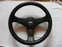 Ford Sierra MK1 RS Cosworth RS500, MK2 2WD steering wheel (Genuine OEM)