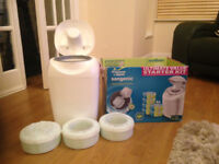 Tommee Tippee nappy disposal system - good condition
