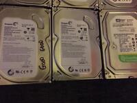Job lot 6 sata hard disks