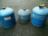 3* Butane Gas Bottles