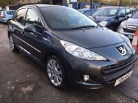 Peugeot 207 1.6 HDi FAP Allure 5dr£3,995 FREE 1 YEAR WARRANTY, NEW MOT,FINANCE AVAILABLE,P/X WELCOME