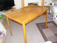Dining Table. Oak Effect. By Next. 4 Seater. Excellent Condition.