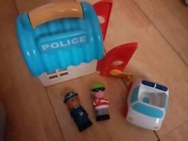 Happy land police set