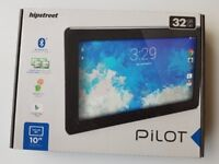 """BOXED AS NEW HipStreet Pilot 10"""" LCD IPS Tablet 32GB Quad Core Android Lollipop Bluetooth HDMI"""