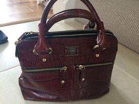 Modalu leather handbag £30