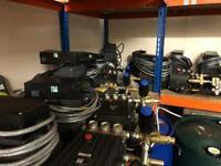 3 phase pressure washers