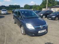 Zafira Exclusive 1.6L 5DR 2009 7 seater long mot excellent condition