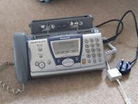 Panasonic phone and fax