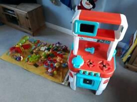 Children's kids play kitchen