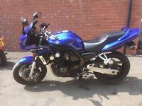 Yamaha FZS 600 fazer lovely condition ready to ride new mot 2003