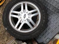 Wheel tyre packages £125 only