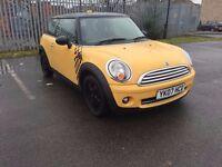 Mini Cooper 1.6 2007 Yellow ***Fantastic Condition*Excellent Drive***