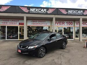 2013 Honda Civic EX A/C CRUISE H/SEATS SUNROOF 97K