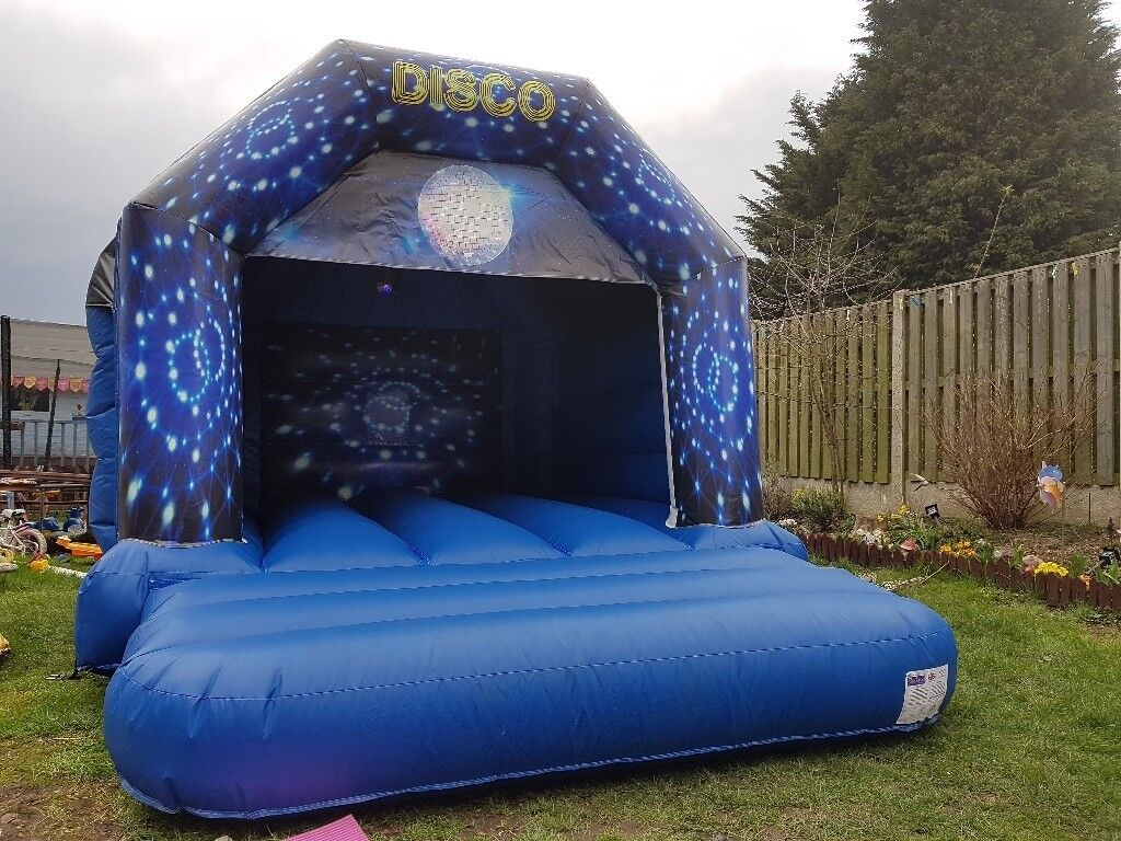 Disco Bouncy Castle for hire