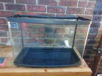 Bow fronted fish tanks