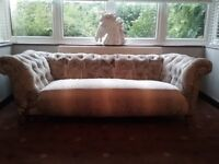 Antique chesterfield needs some t l c £265 ono Chingford area