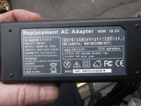a laptop charger 18.5v.