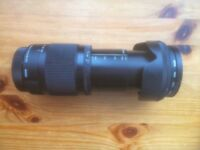 Canon fit Sigma 18-300mm zoom lens