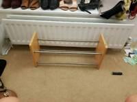 Shoe rack extendable