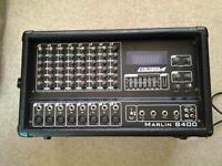 carlsbro 400 watt pa amp