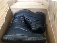 Dr martins work boots size 8