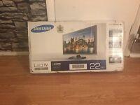 Samsung 22inch LED Tv - Brand new in box.