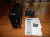 Zyxel NSA310 1-bay NAS/Media Server complete with 3TB SATA Disk