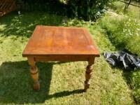 Vintage Small three Leif Solid Oak Table